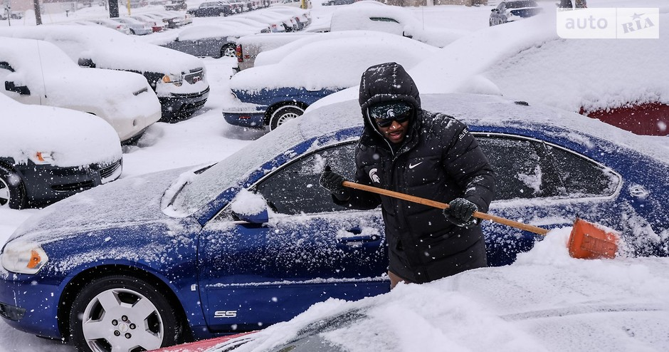 уборка снега авто