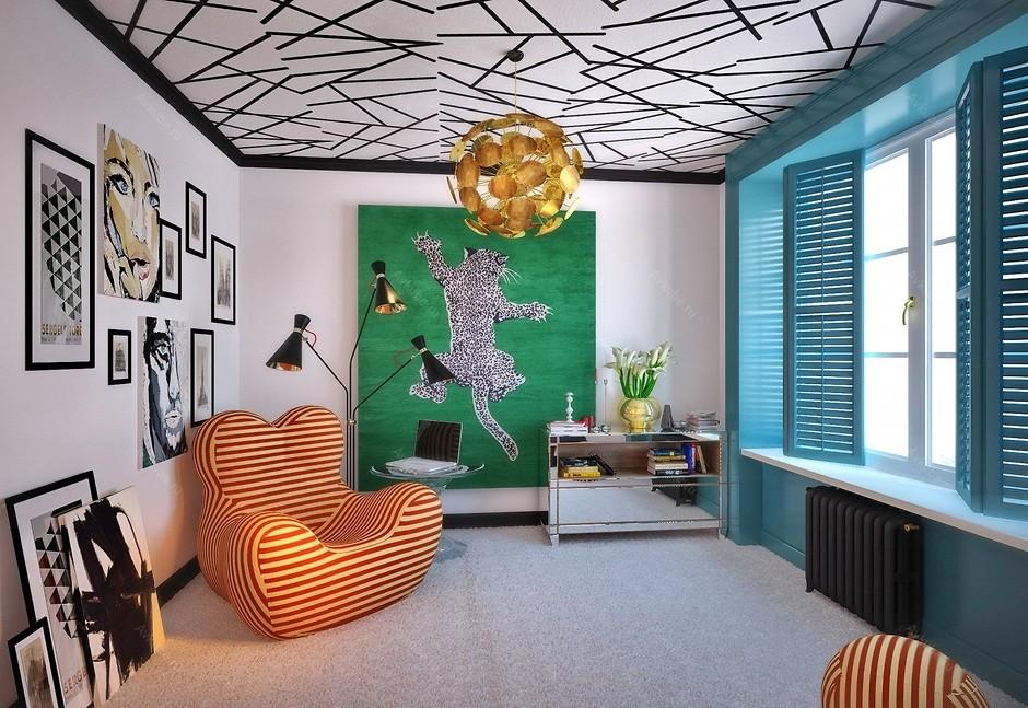 Мебель в стиле поп-арт фото