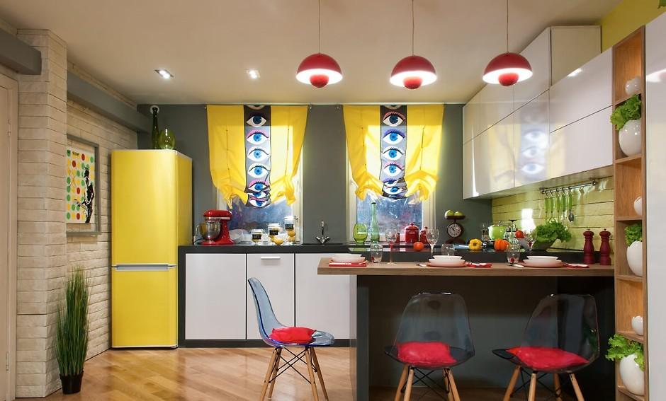 Кухня в стиле поп-арт фото