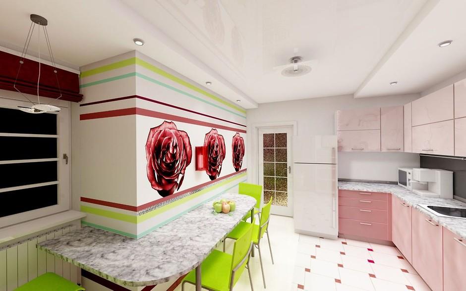 Кухня поп-арт фото