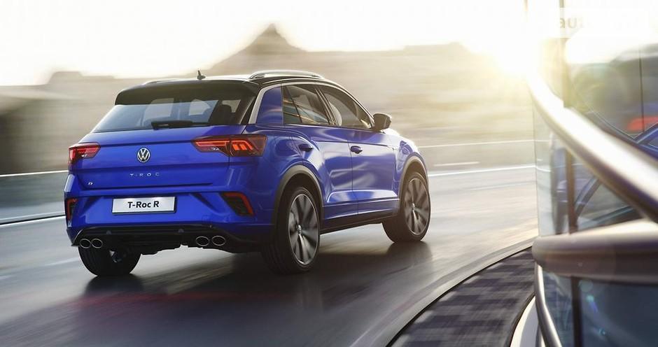 кроссовер Volkswagen T-Roc R