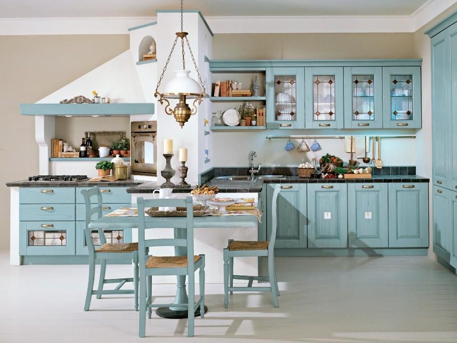 интерьер кухни в итальянском стиле фото