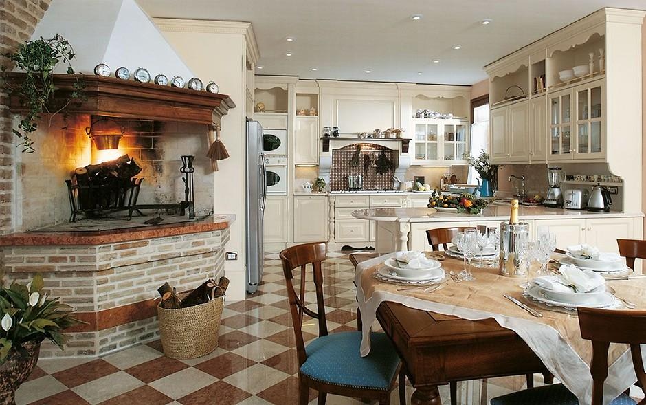 кухня итальянский стиль фото