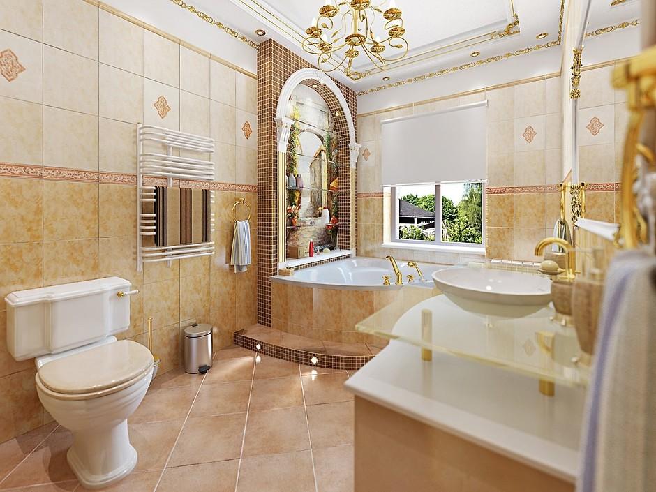 ванна в итальянском стиле фото