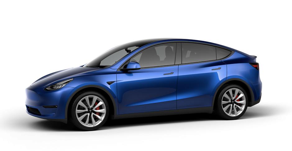 новый Tesla Model Y