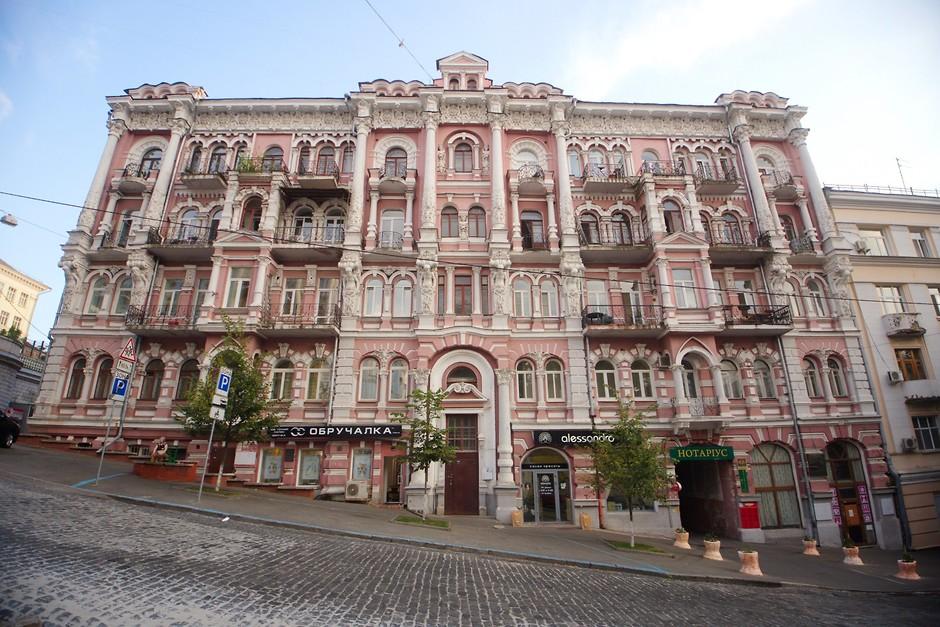 Исторические здания в Киеве