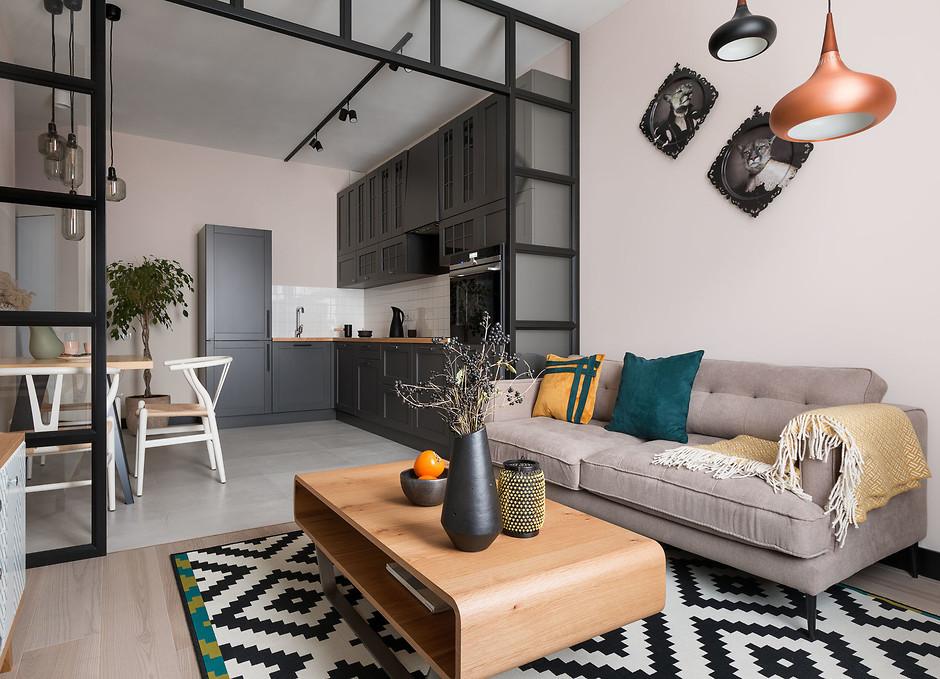 Как оформить маленькую гостиную