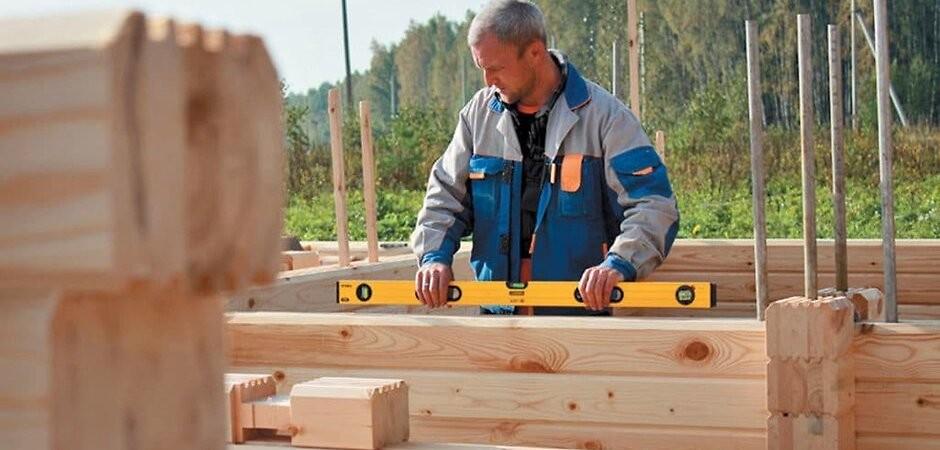будівництво будинку з клеєного бруса