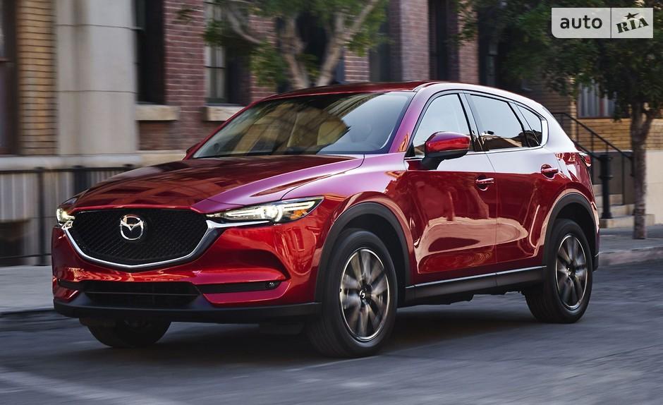 новый Mazda CX-5