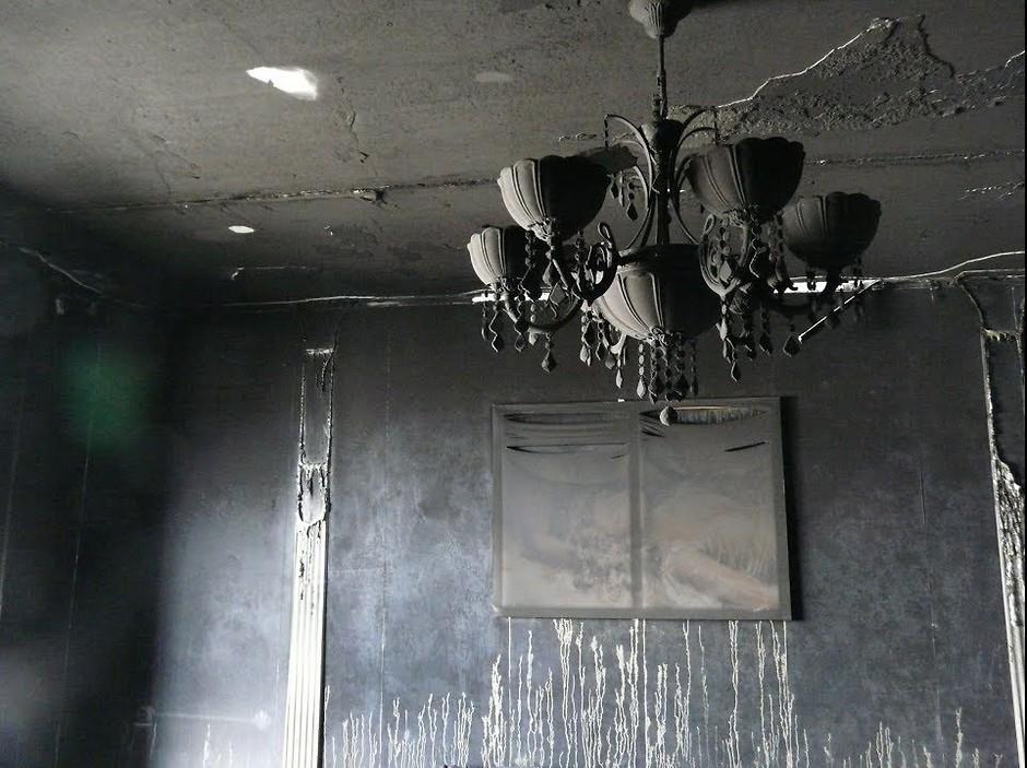 Как убрать квартиру после пожара