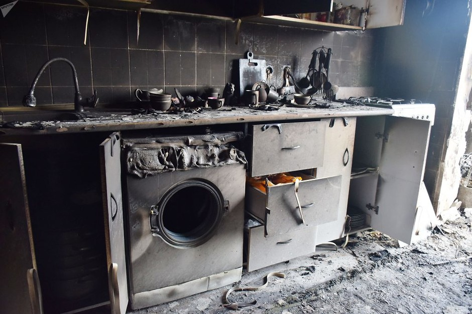 Уборка жилья после пожара