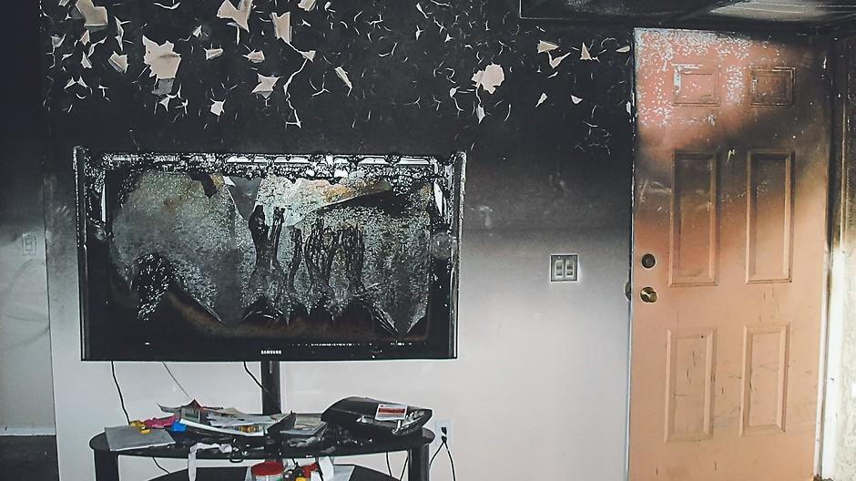 Как отчистить копоть после пожара