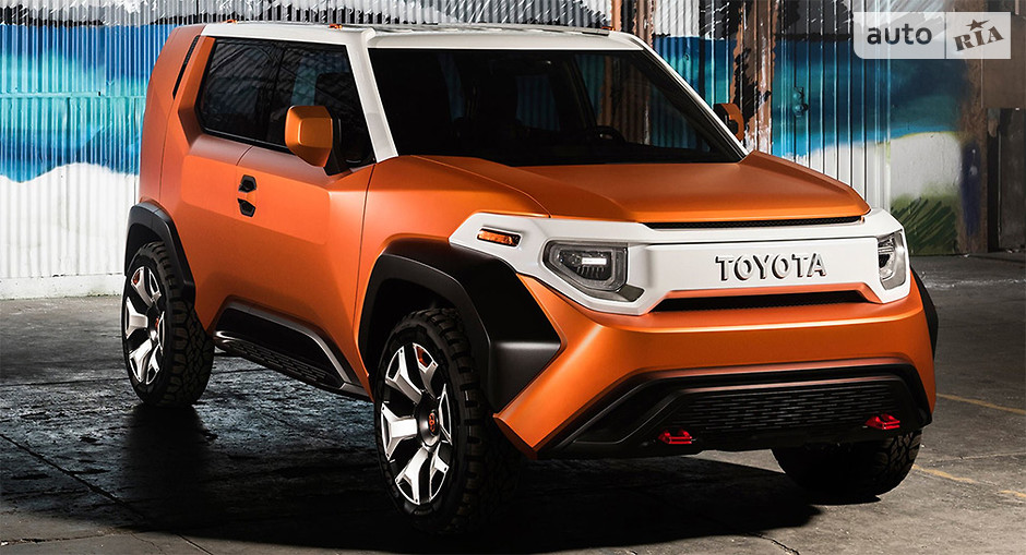 кроссовер Toyota
