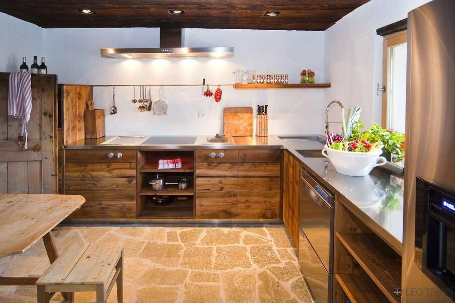 кухня шале фото
