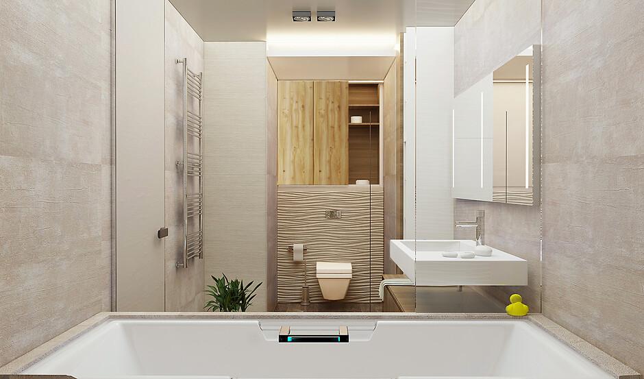 Ванна в квартиру