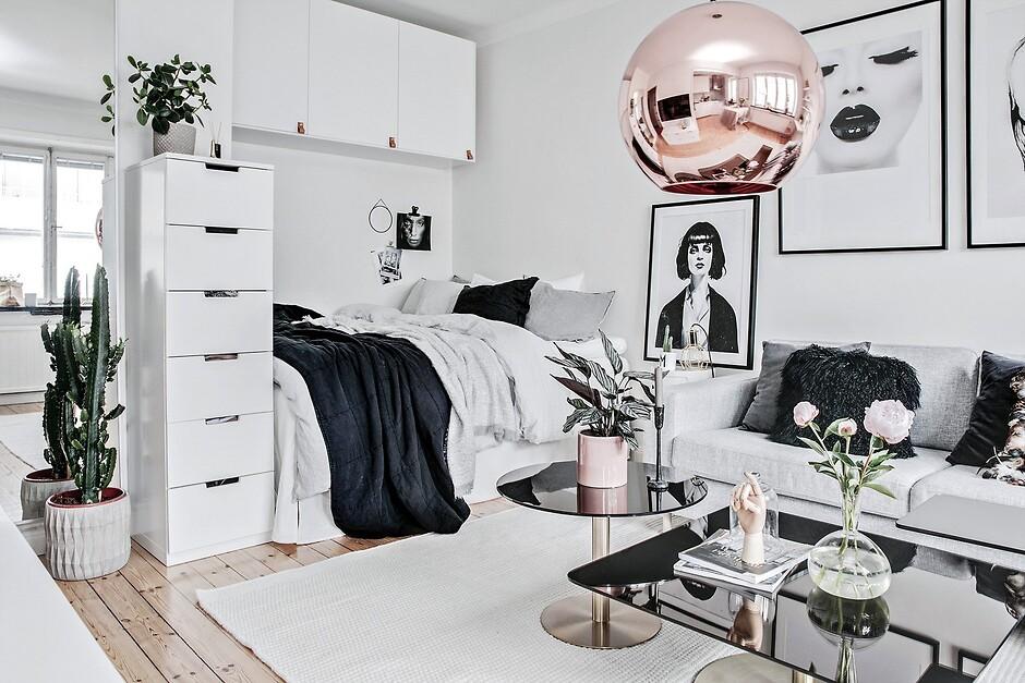 мебель в углу комнаты
