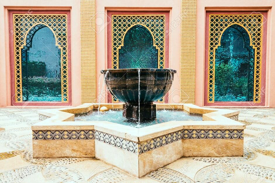 Марокко в интерьере фото