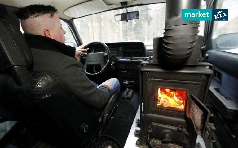 Печка в салоне машины
