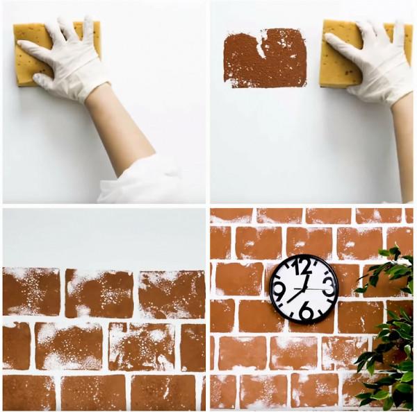 Цегляна стіна своїми руками