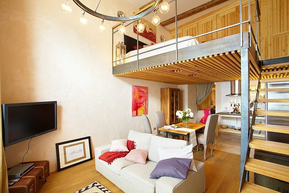Квартира бельетаж