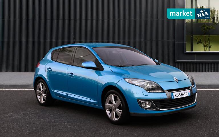 Renault Meganeпосле рестайлинга в 2012 году