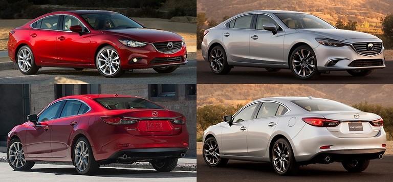 Mazda 6 рестайлинг