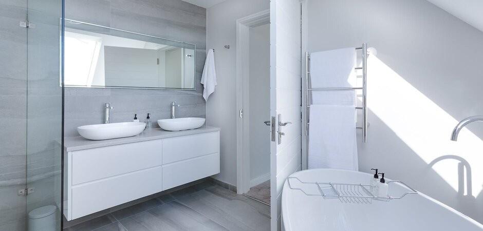 збільшення ванної кімнати за рахунок коридору