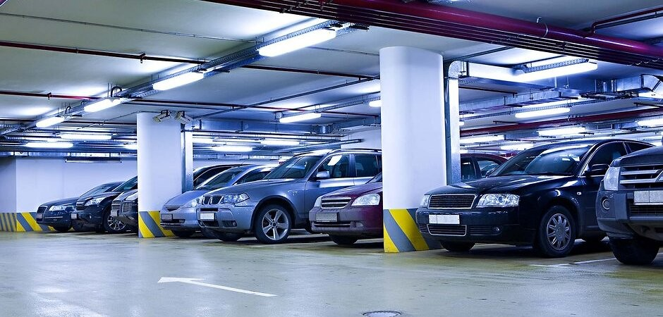 парковка в новостройке