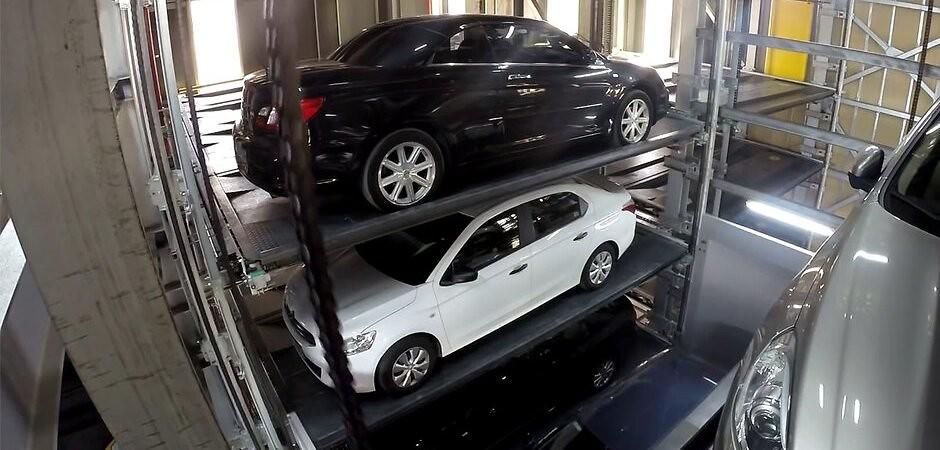 механізовані паркінги в новобудовах