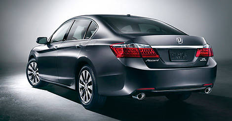 На блоге Авториа фото новой Honda Accord 2012