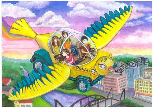 Рисунки конкурса автомобиль моей мечты 147