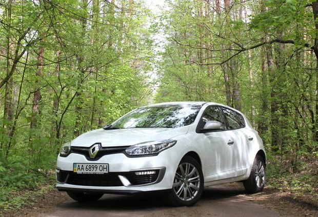 Renault Megane GT Line 2014 тест-драйв
