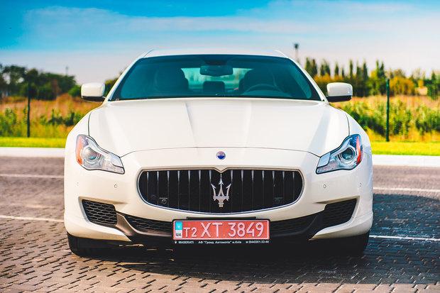 Maserati Quattroporte, Мазерати