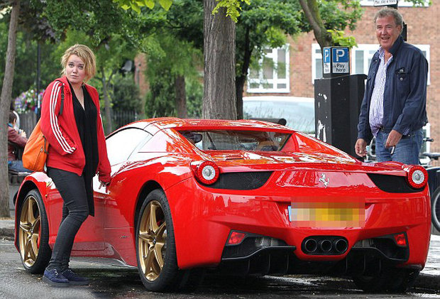 Джереми Кларксон и Ferrari 458 Spider