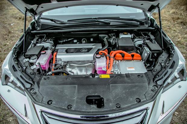Силовая установка Lexus NX