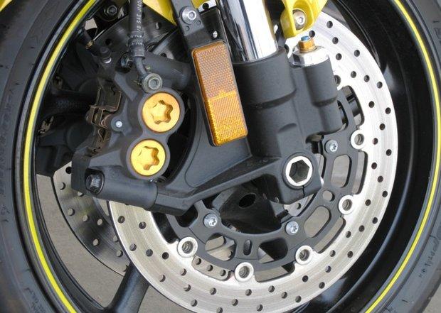 тестовий заїзд на мотоциклі