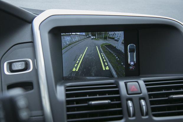 Экран информационной системы Volvo XC60