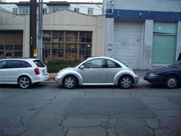 Как припарковаться параллельная парковка передом
