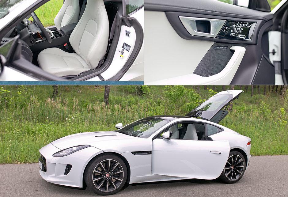 тест-драйв купе Ягуар, Jaguar F-Type, Максим Шкиндер