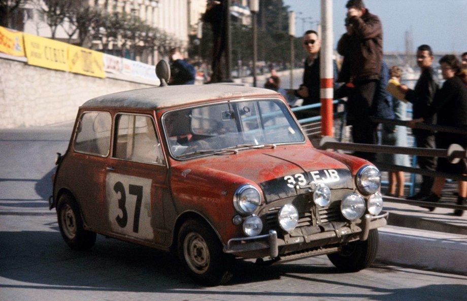 Mini на Ралли Монте-Карло