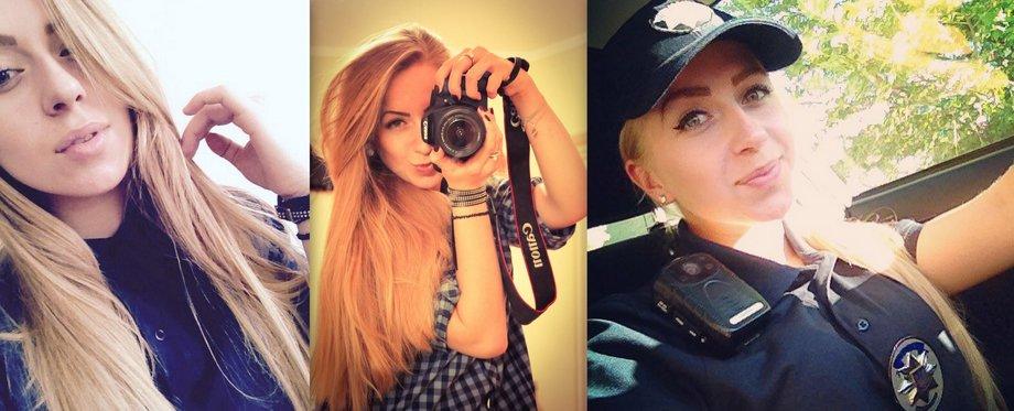 самые красивые девушки блондинки полицейские