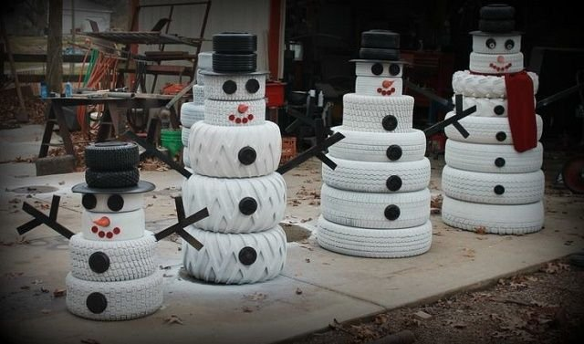 Снеговик 1 меСвоими руками сделать беседку