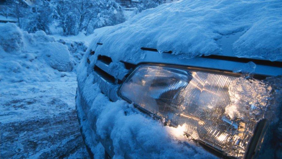 Автомобиль зимой