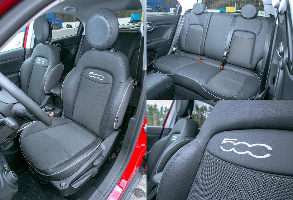 Салон Fiat 500X