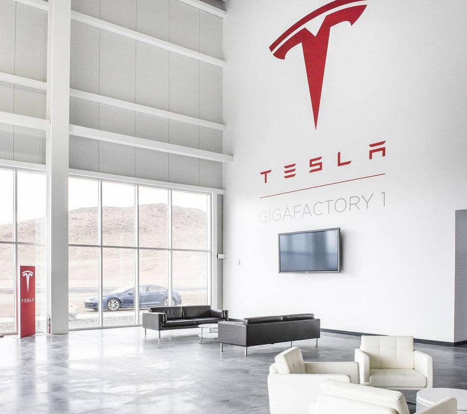 новый завод Тесла фото