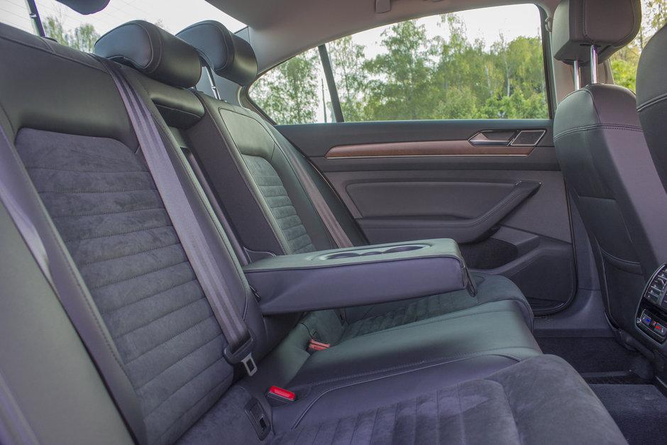 Салон VW Passat