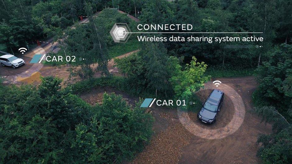 Land Rover Platoon mode