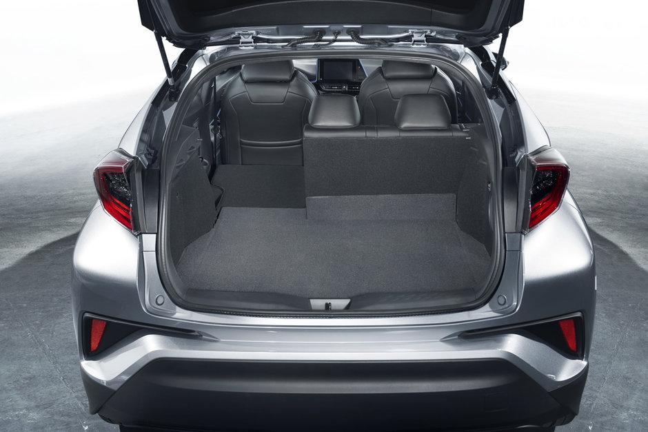 Багажник Toyota C-HR