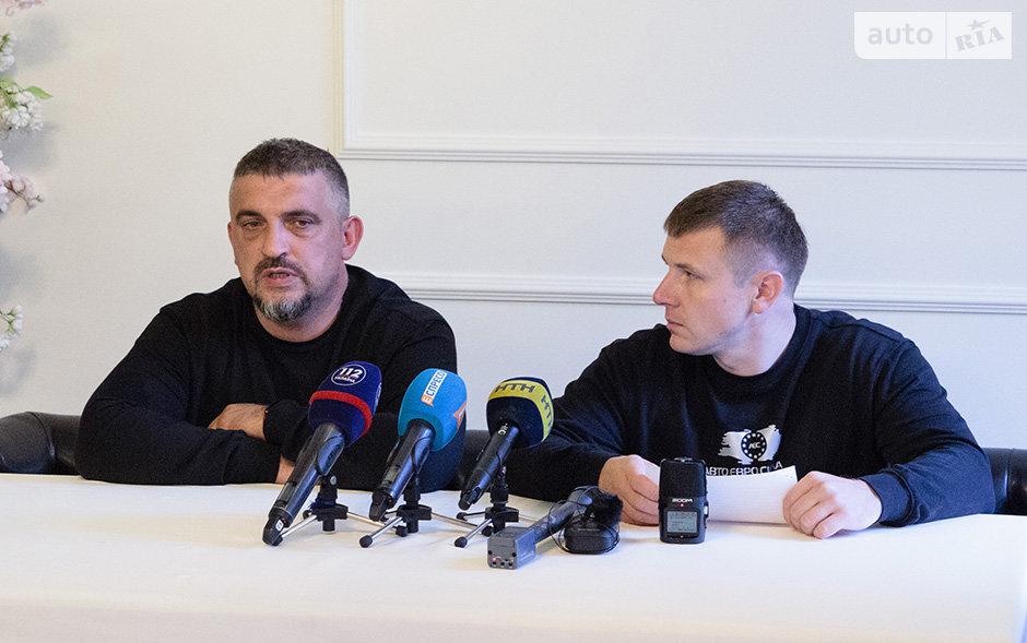 """Олег Ярошевич і Олександр Чернявський, ГО """"АвтоЄвроСила"""""""