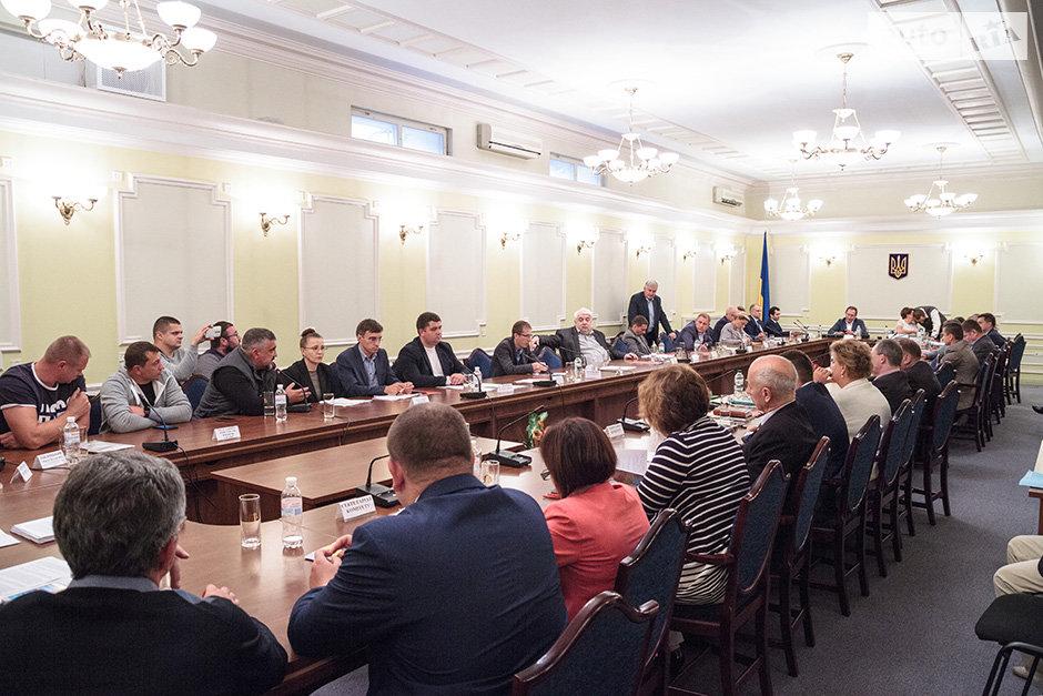 Активісти на комітеті ВР
